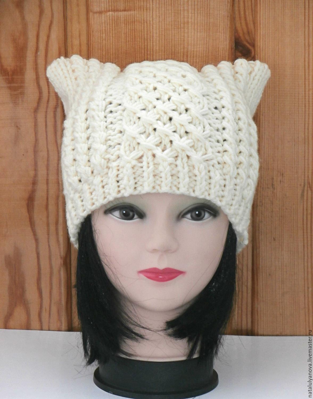 Вязание шапок с ушками в ютубе