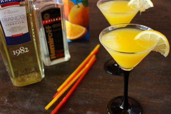 Как сделать коктейль мартини с водкой