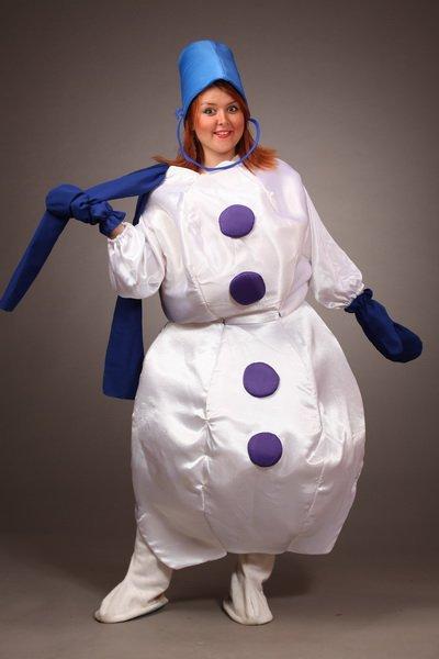 Взрослый костюм снеговика своими руками 59