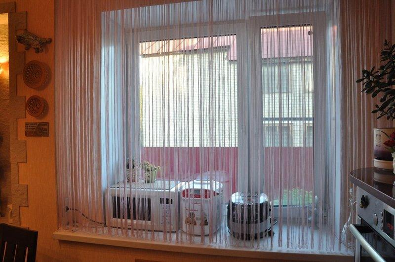 Висюльки на окно