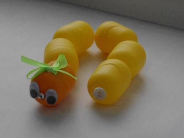 Поделки из киндер яиц своими руками для дома