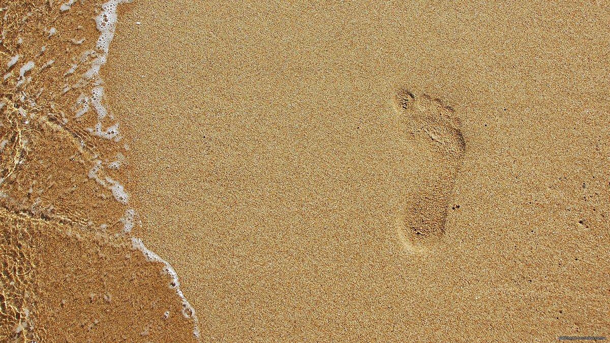 След на песке  № 2499331 без смс