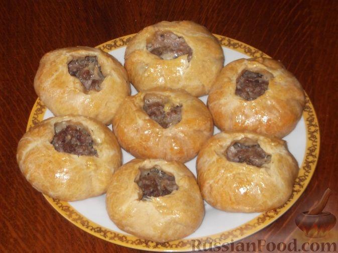 Рецепты беляшей с мясом в духовке с фото