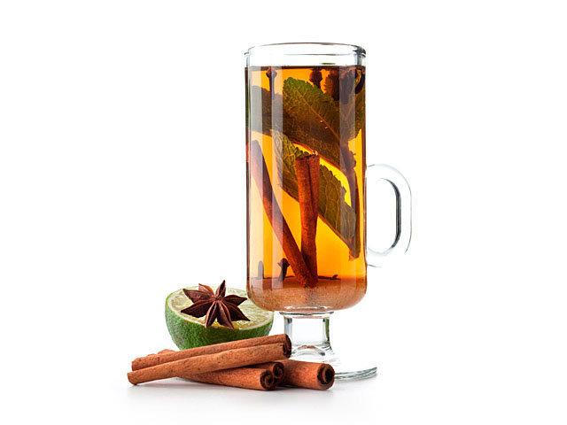 Чай по мароккански с корицей