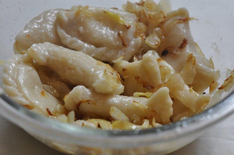 Вареники с картошкой постные рецепт пошаговый с