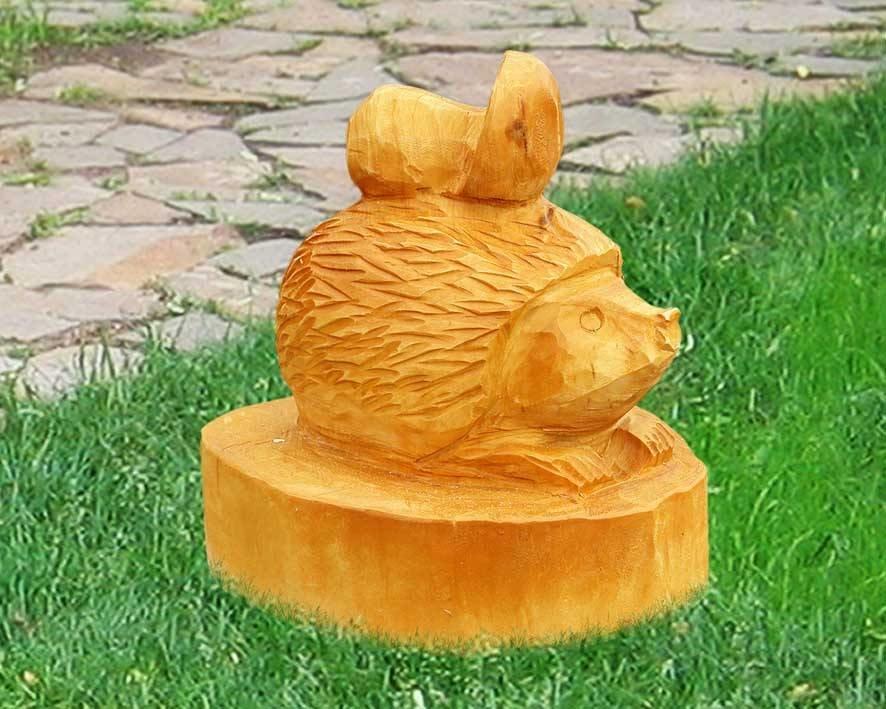 Деревянные скульптуры своими руками фото 40