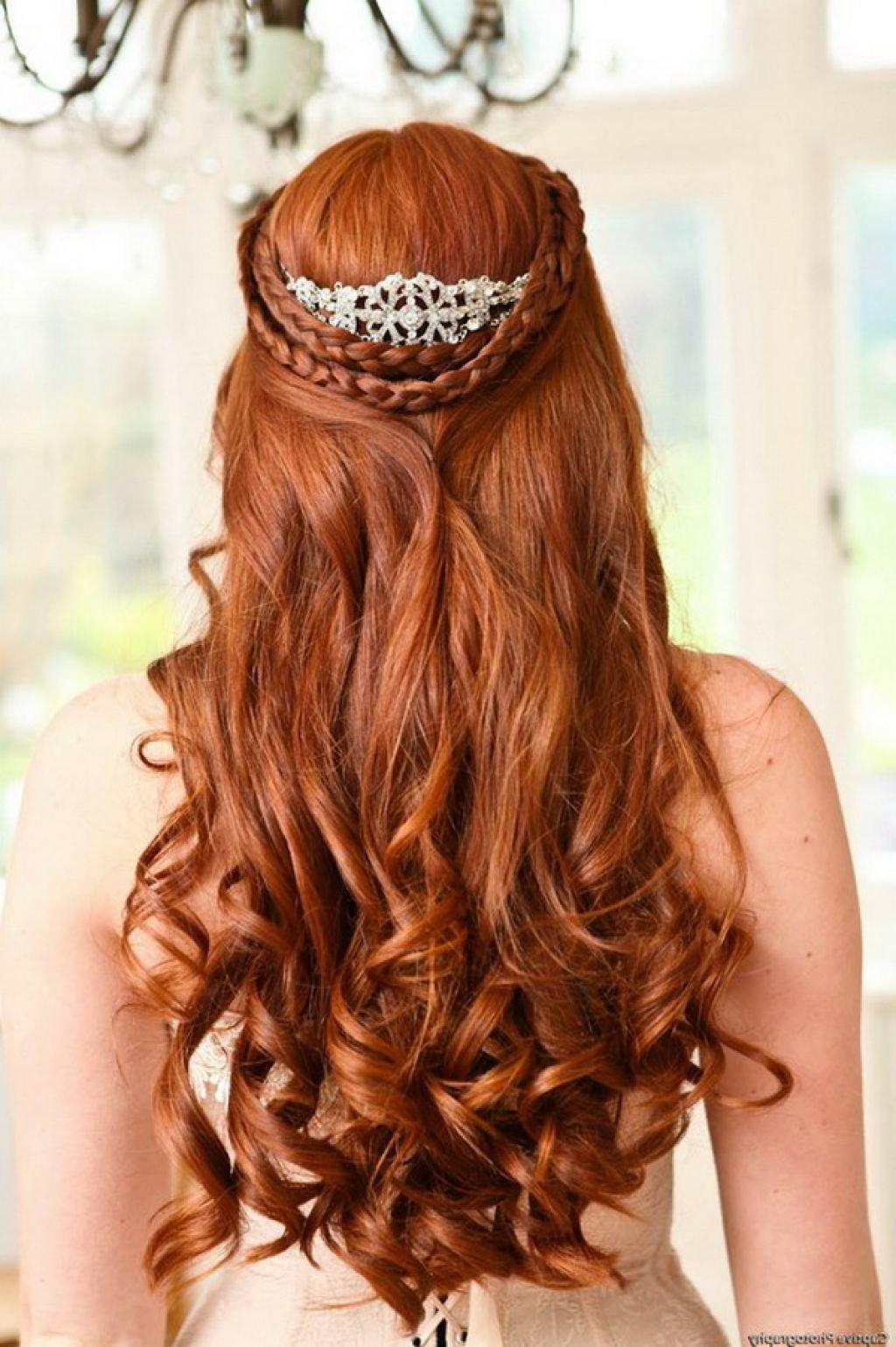 Красивые причёски на свадьбу ребёнку с длинными волосами
