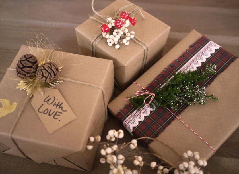 Оформление подарков упаковка 53