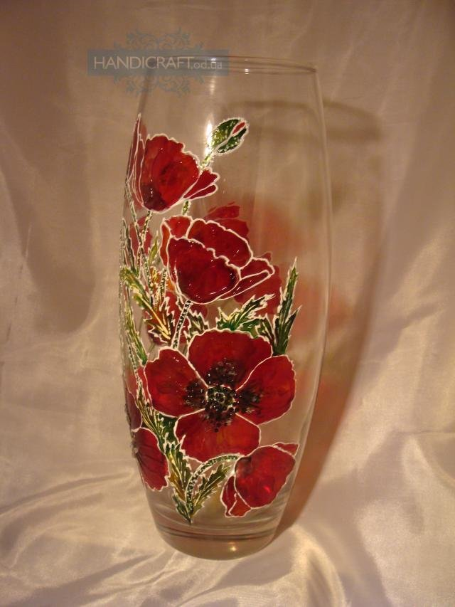 Орнамент на вазе своими руками 15