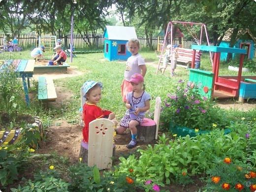 Детская площадка в саду - карточка от пользователя nntic1502 в Яндекс.Коллекциях