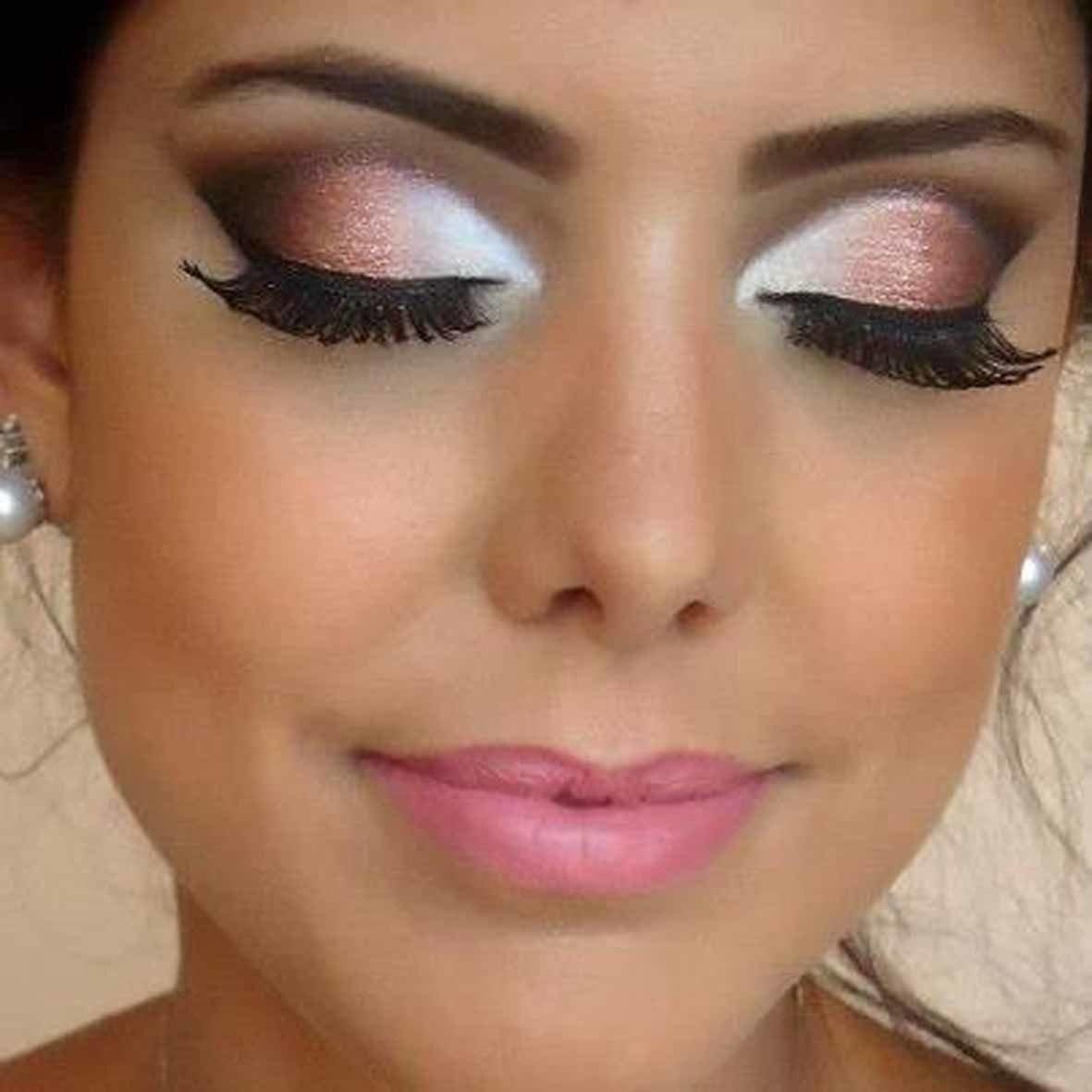 Макияж глаз для невесты пошаговое фото
