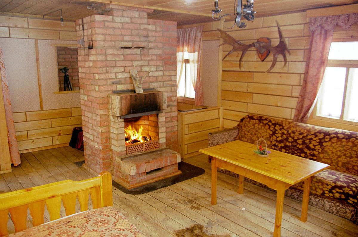 Варианты каминов для деревянного дома по типам топлива 54