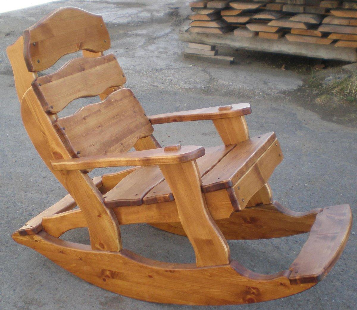 Как сделать кресло-качалка своими рукам 31
