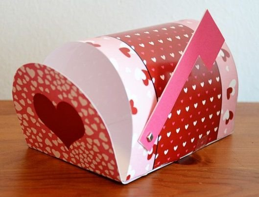 Коробочки своими руками для валентинок