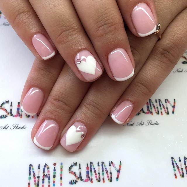 Дизайн ногтей френч 2017 новинки на коротких ногтях