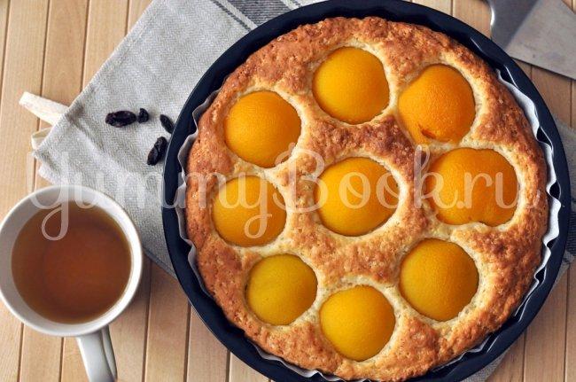 Выпечка с консервированными персиками рецепт с фото