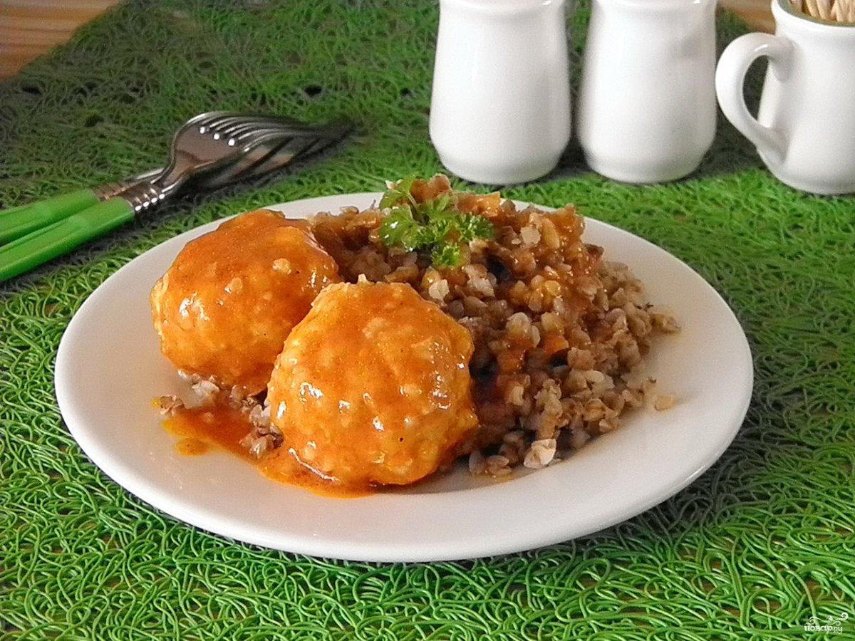 Рецепт тефтелей без риса