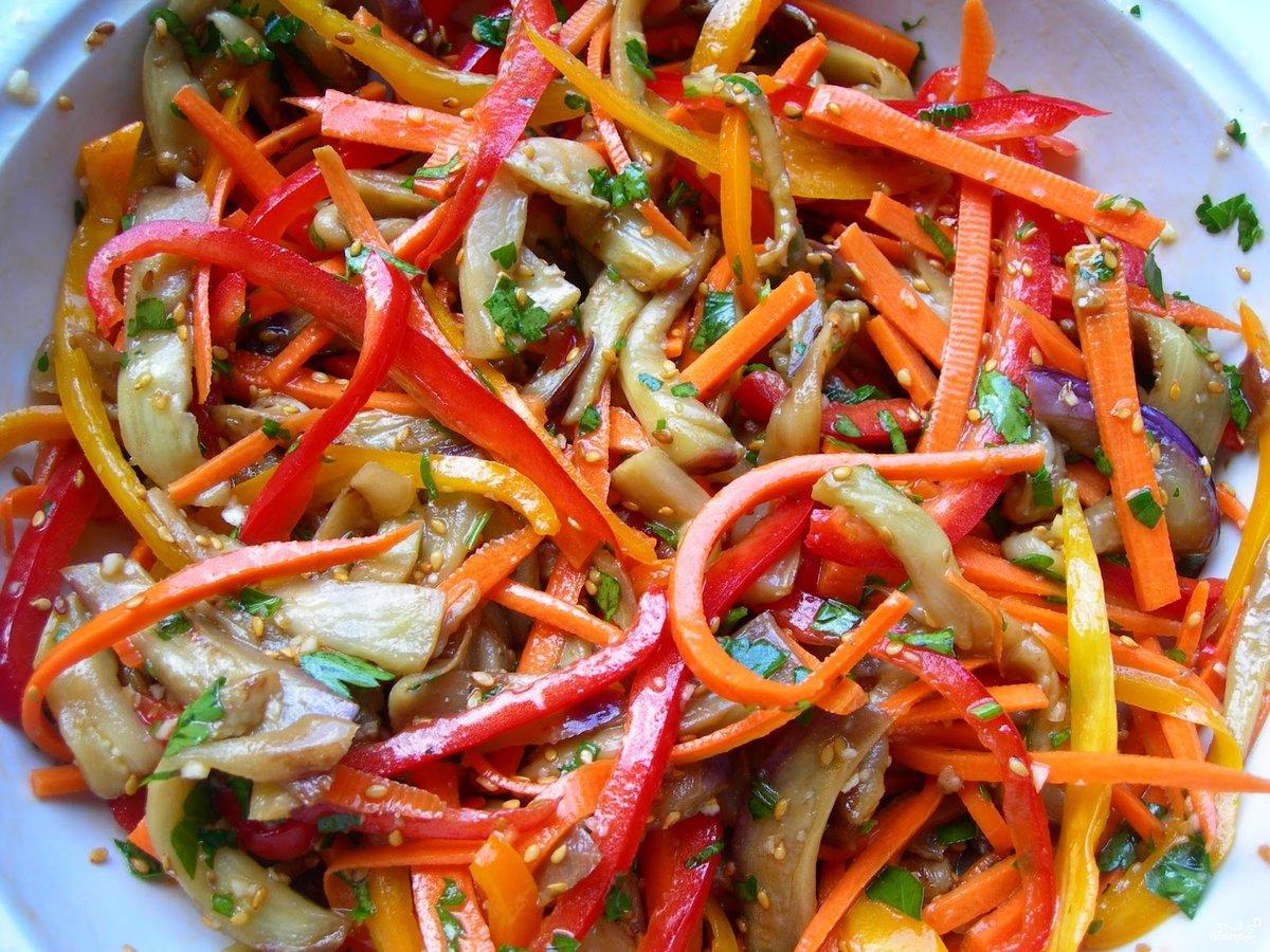 Рецепт салата морковь по корейски на зиму