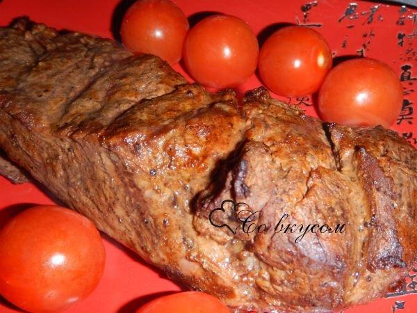 Рецепты мяса в духовке с пошаговым