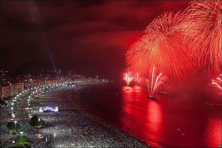 Как отмечают новый год в бразилия
