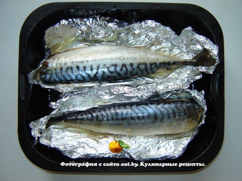 Рецепт запечённая рыба в фольге в духовке рецепт с фото пошагово