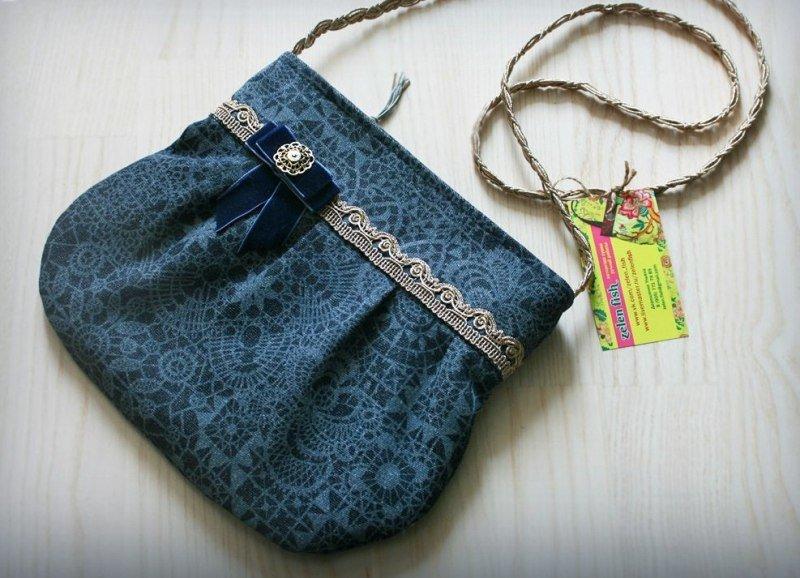 Сшить сумочку через плечо для девочки своими руками