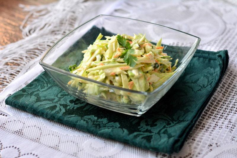 Летний салат легкий рецепт