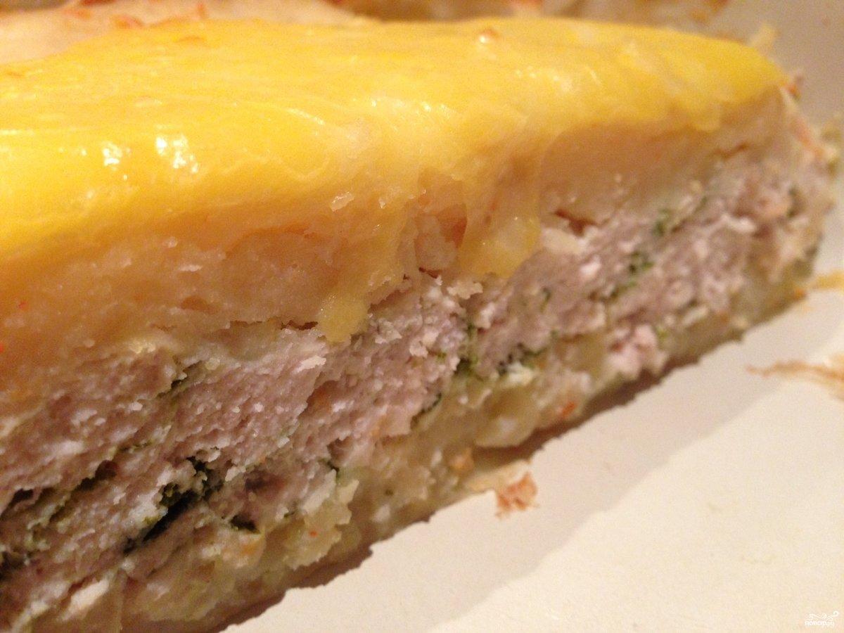 Картофельное пюре запеканка с мясом в духовке рецепты пошагово