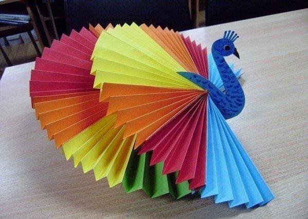 Цветные бумаги своими руками