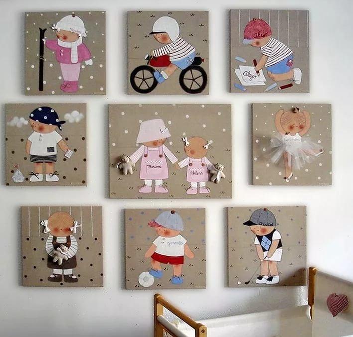 Декоры для детской комнаты своими руками 561