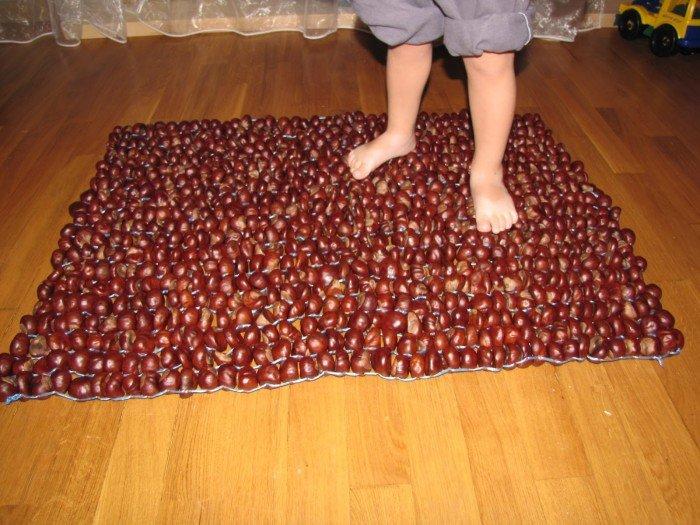 Фото массажный коврик для детей своими руками