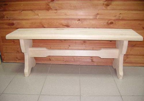 Деревянные скамейки своими руками для бани 80