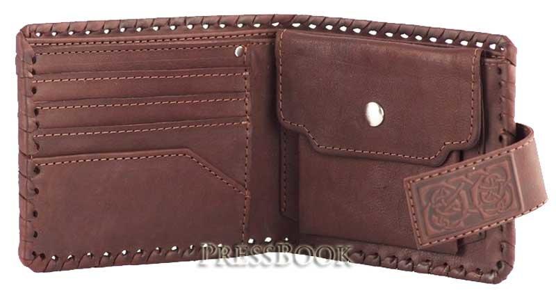 Мужское портмоне из кожи выкройки фото