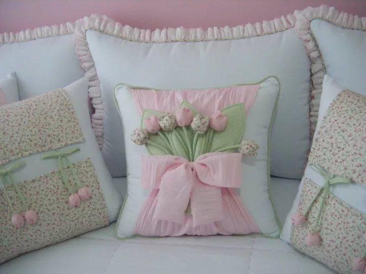 Как сшить красивую подушки своими руками