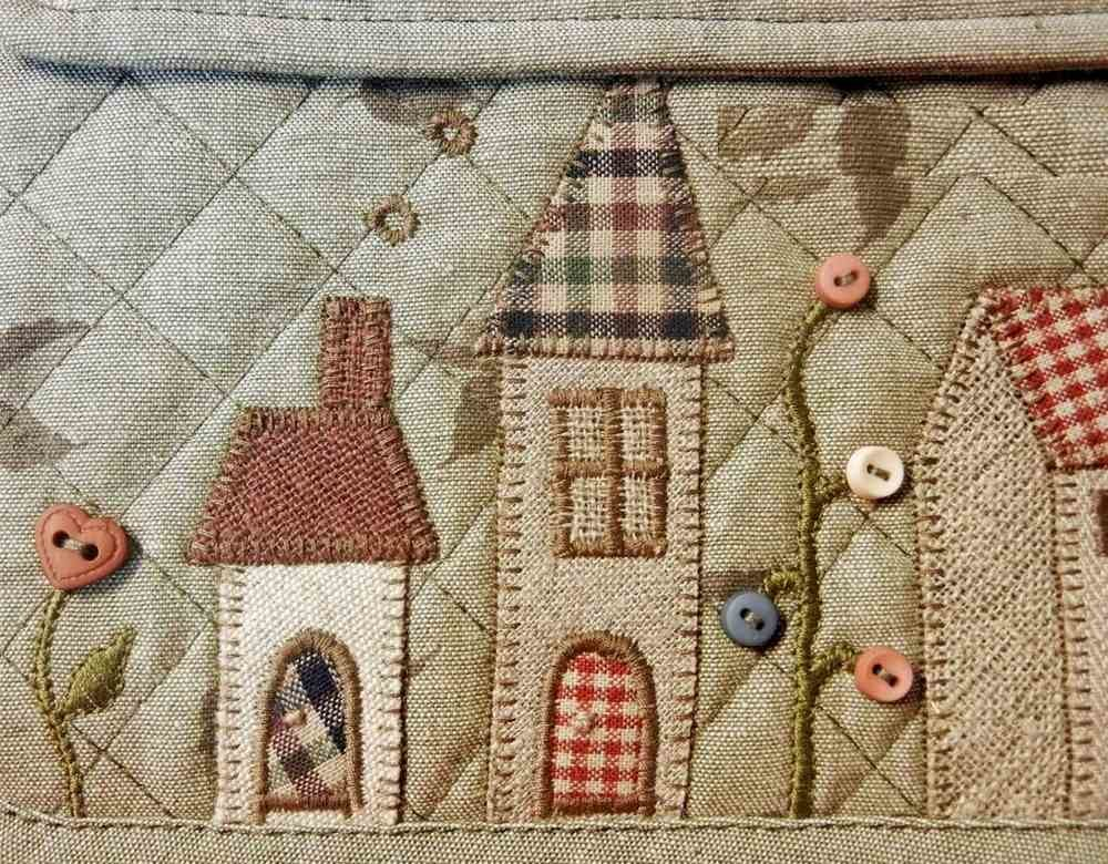 Лоскутное шитье японских мастеров