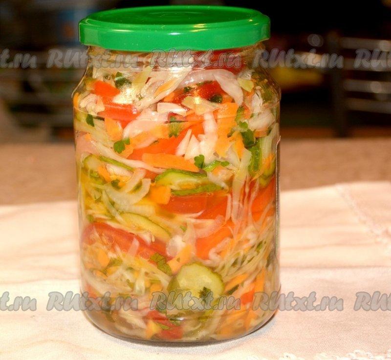 Вкусные салаты на зиму рецепты с