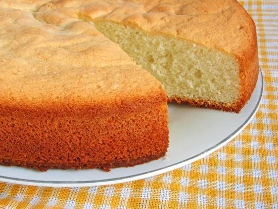 Торт простой бисквитный рецепт