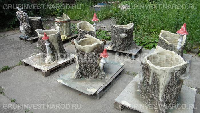 Как своими руками сделать садовую скульптуру 22