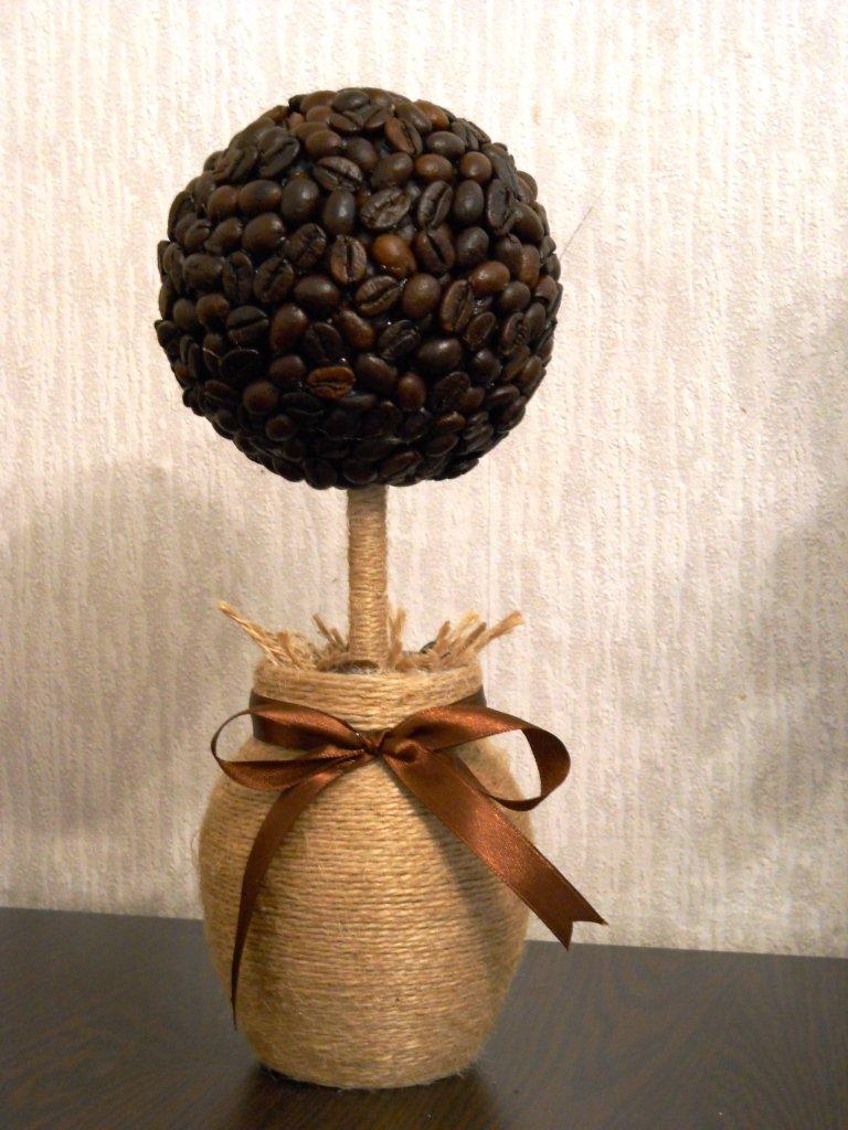 Поделки из кофе своими руками деревья