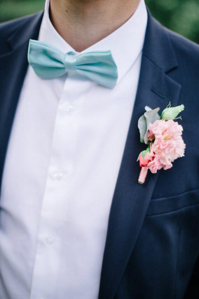 Бабочка галстук для свадьбы