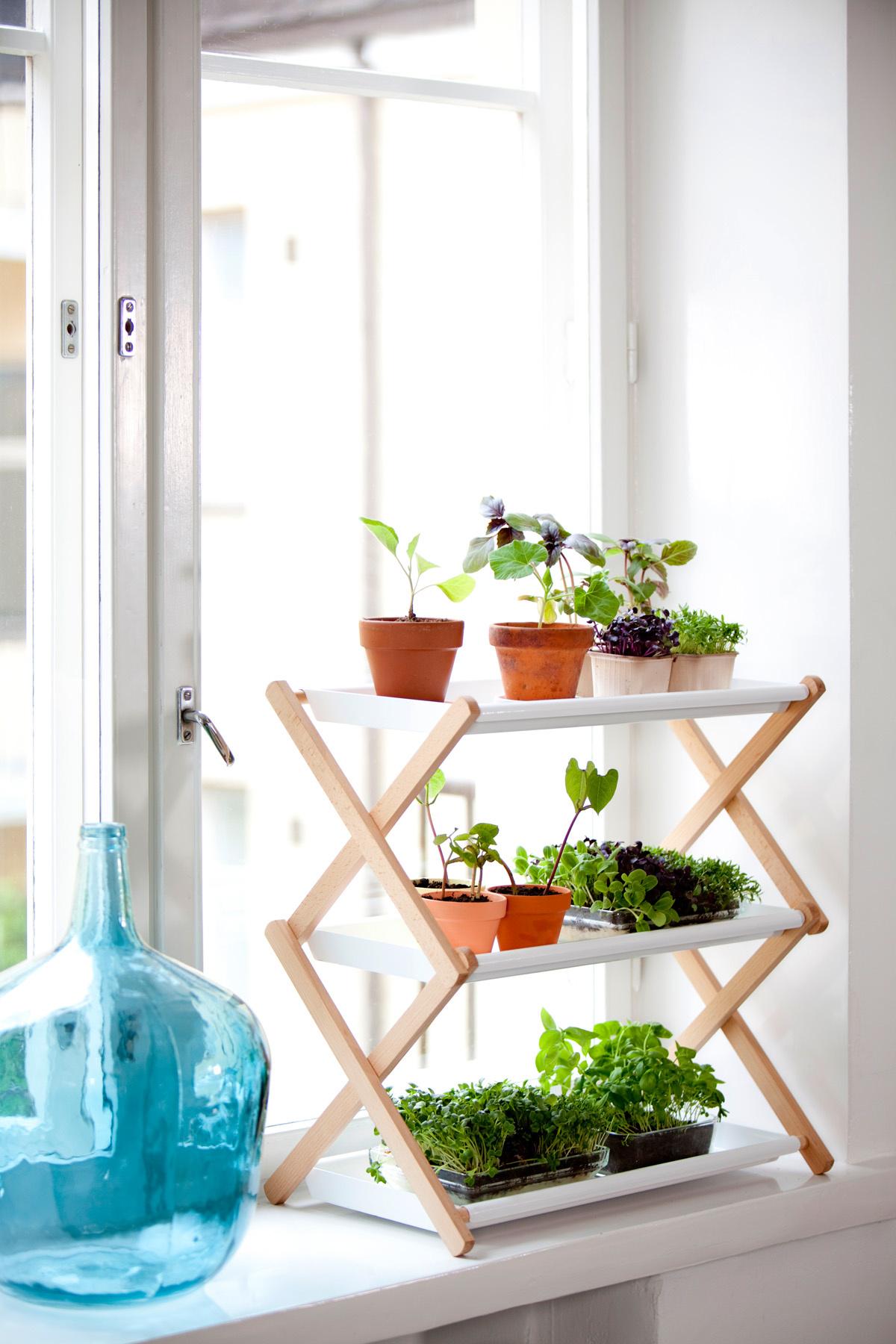 Как сделать на подоконнике место для цветов