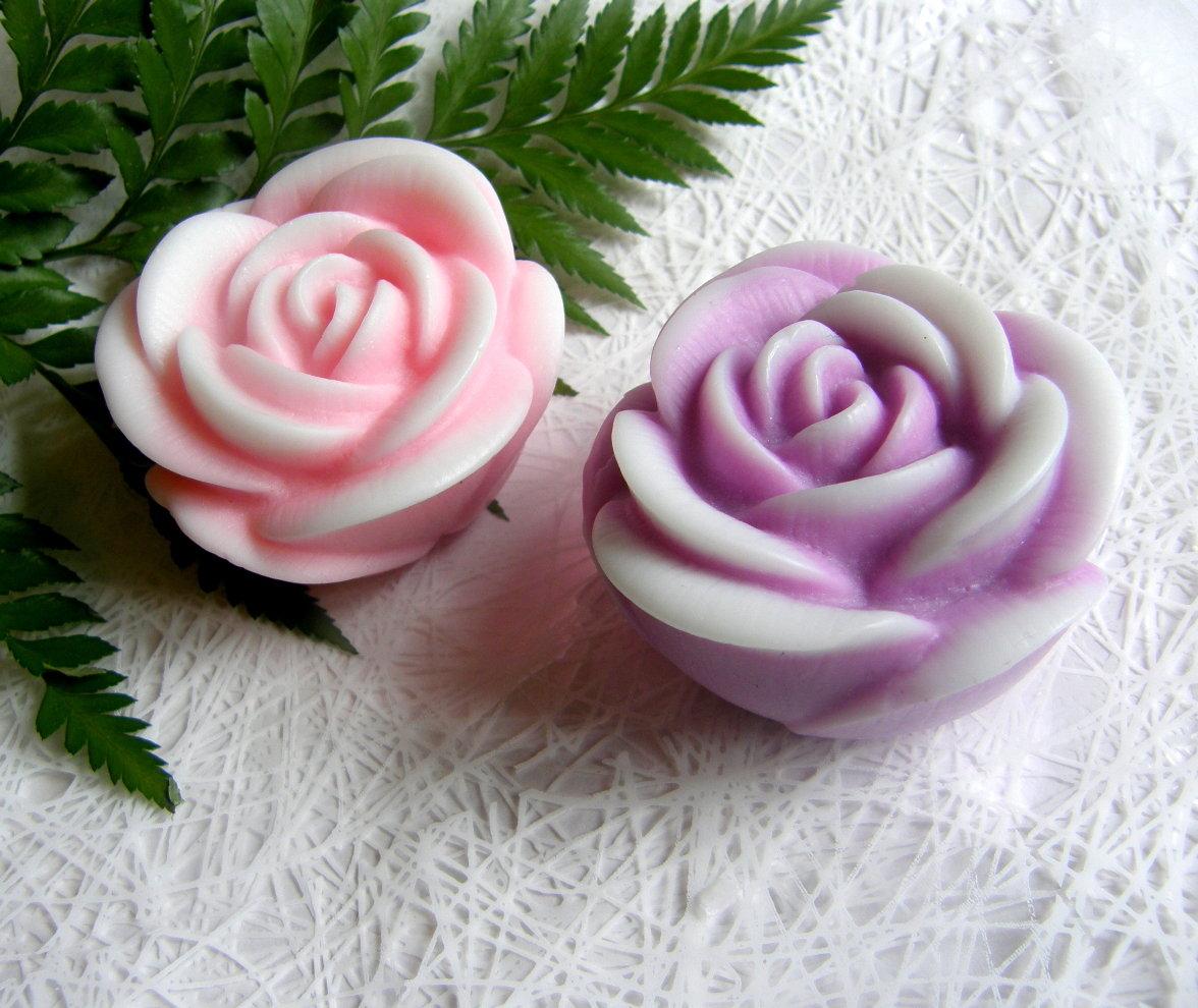 Мыло ручной работы цветок фото