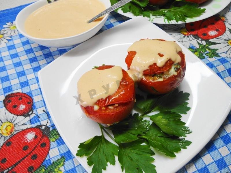 Рецепты фаршированные помидоры пошагово с фото