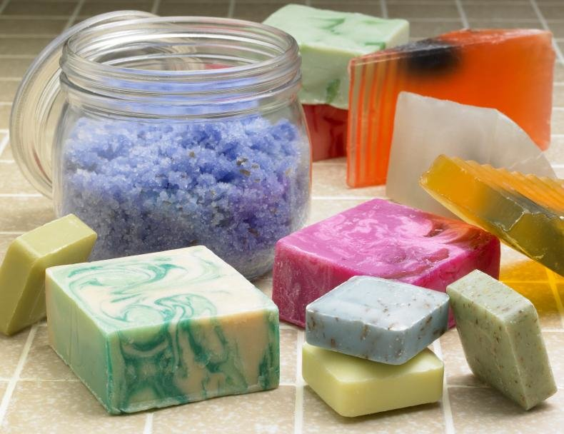 Мыло своими руками с добавлением соли 56