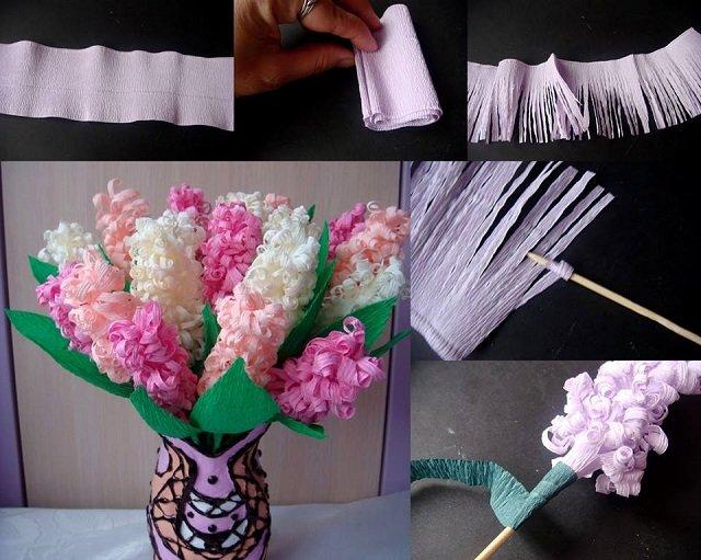 Как сделать поделку цветы