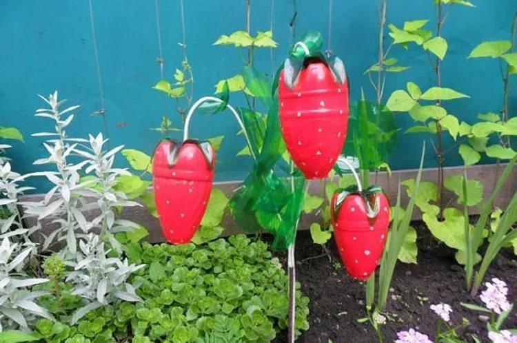 Сад огород поделки своими руками и как их делать