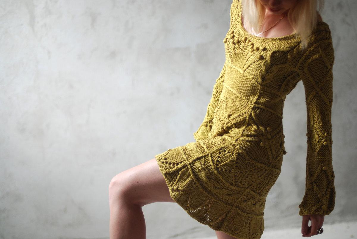 Модное вязание спицами : фото, тенденции 13
