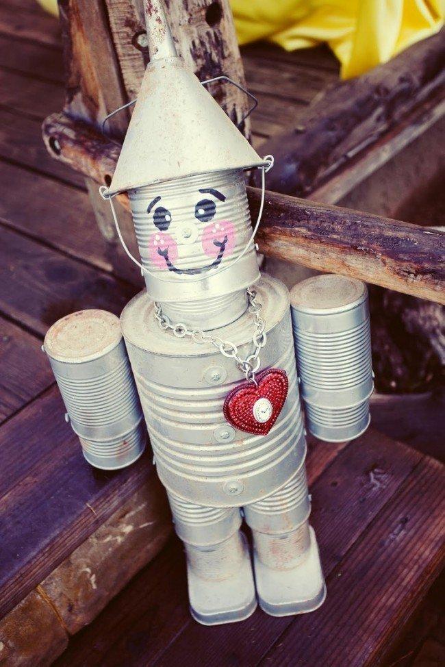 Поделки из жестяных банок для детского сада