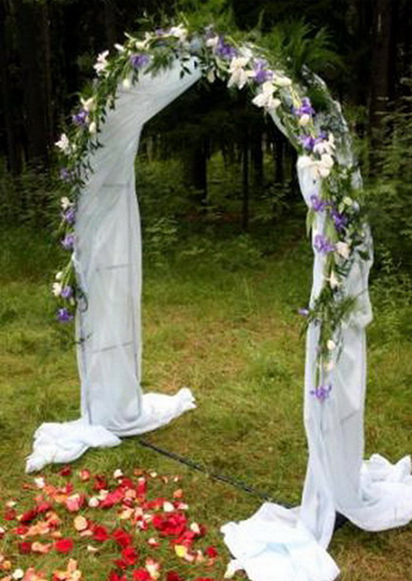 Арка на свадьбу своими руками пошаговая