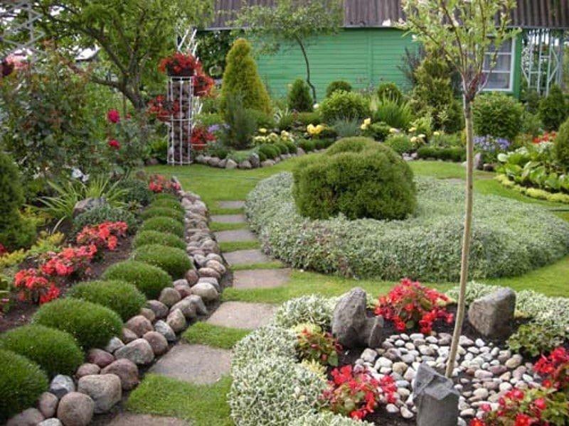 Фото сад своими руками